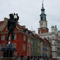 На площади Старый Рынок — сердце Познани :: Елена Павлова (Смолова)