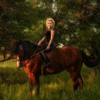 Конные прогулки :: Валерия Ступина