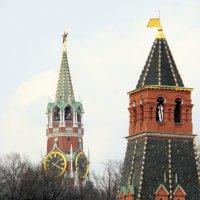 Башни московского Кремля. :: Елена