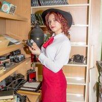 В библиотеке. :: Александр Лейкум