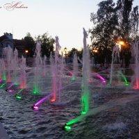 Цветной фонтан :: °•●Елена●•° Аникина♀