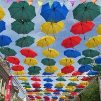 Небо в зонтиках :: Вера Щукина