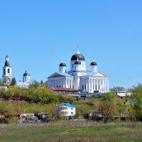 Арзамас, церковь Живоносного источника и Воскресенский собор :: Наталья Маркелова