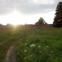закат в монастыре :: александр пегов