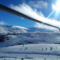 Солнце , горы , снег... :: АЛЕКС