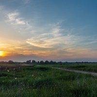 Весенний закат 2 :: Андрей Гриничев