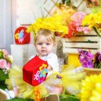 Маленькая именинница Сашенька :: Татьяна