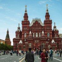 Красная Площадь и уставшие туристы !)) :: Маry ...