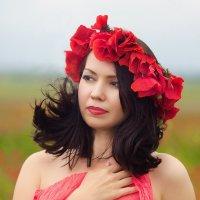 В маках :: Олеся Шаповалова
