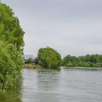 Домик у реки :: Сергей Щербаков