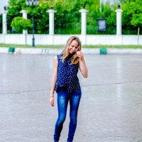 Под дождем :: Irina Rykova