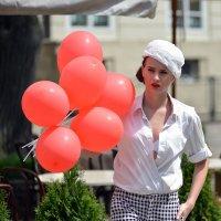 Девушка и шары :: пан Шмулинсон