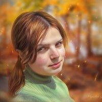 Девчушка-конопушка :: Ирина Kачевская