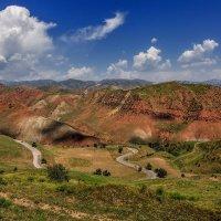 Дорога на Нурекскую ГЭС :: Аnatoly Gaponenko