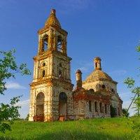 Церковь Николая Чудотворца. Вазьян :: Роман Царев
