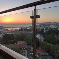 закат с балкона :: Алексей Меринов