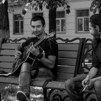 Музыка улиц... :: Владимир Голиков
