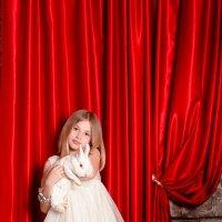 Белый кролик и Алиса :: Мила Адамова