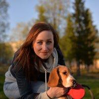 Дама с собачкой :: Наталья Радина