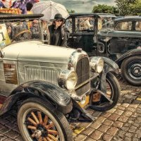 Фестиваль ретро авто в Калининграде :: Павел Дунюшкин