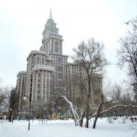 Москва Новая высотка на Соколе :: Денис Масленников