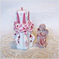 Розовый ангел. :: Валерия Комова
