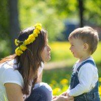 С мамой :: Ольга Князева