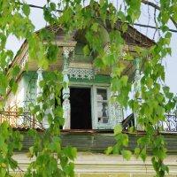 Дом с мезонином. :: Ирина Нафаня
