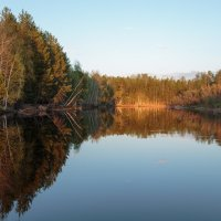 на закате,на реке... :: Сергей