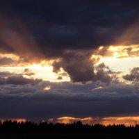 костромское небо :: Краснов  Ю Ф