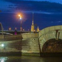 Ночь над Питером :: Дмитрий Рутковский