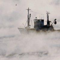 Корабль в тумане :: Allex Anapa