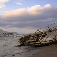 Разбитая лодка :: Ольга Гурьянова