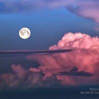 Луна и облака :: Георгий Бондаренко