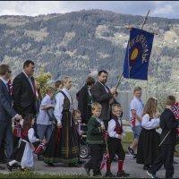 и даже в маленьком горном селе-Большой Праздник :: liudmila drake