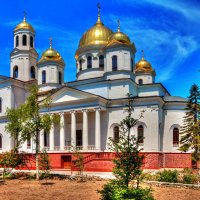Собор Александра Невского в Симферополе :: Юрий Яловенко