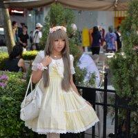 Японочка в Сингапуре :: Елена Данилина