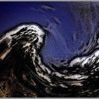 Бушующая стихия - облака, превратившиеся в волны... :: Нина Корешкова