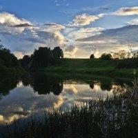 Река Шаква - баенькать укрывается... :: Владимир Хиль