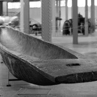 Лодка-долбленка :: Эдуард Цветков