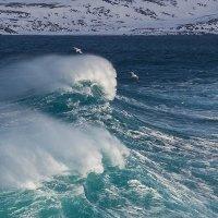 Волны Баренцевого моря :: Сергей СВ