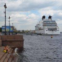 Посиделки на набережной :: Наталья Левина