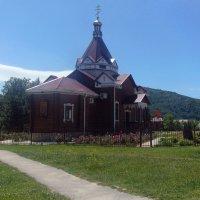 Церковь Димитрия Солунского в Каменномостском. Адыгея. :: Юлия Бабитко