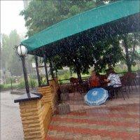 Пока идёт дождь... :: Нина Корешкова