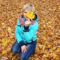 Золотая осень.Олечка :: °•●Елена●•° Аникина♀