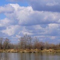 Начало марта, река Кубань :: Игорь Сикорский