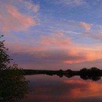 Отражение заката. :: Антонина Гугаева
