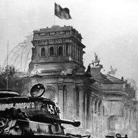 Виктор Темин. Знамя победы над рейхстагом в Берлине. 30 апреля 1945. :: Центр фотографии им.братьев Люмьер