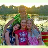 Как то вечерком на озере...... :: Людмила Богданова (Скачко)