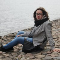 У Невы :: Екатерина Комарова (Седых)